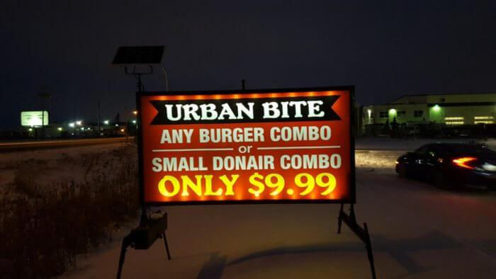 Illuminated Sign