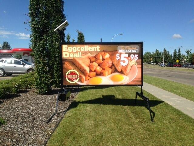 edmonton mini billboards