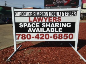 4x8 Commercial Real Estate Sign