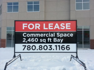 Commercial Real Estate Signs 5x10