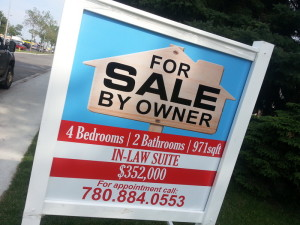 Commerical Real Estate Sign 4x4
