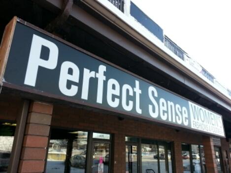 St albert business sign