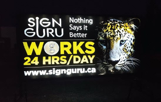 Lighted Mobile Signs