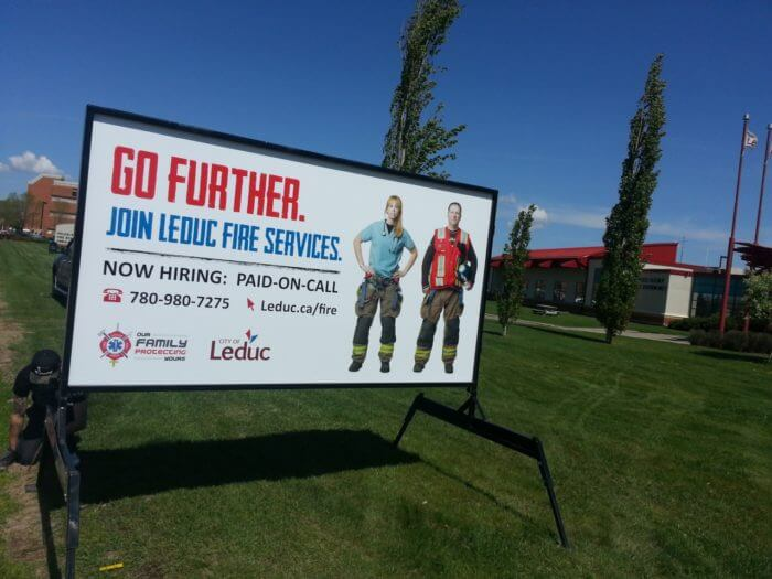 Leduc Sign Rentals