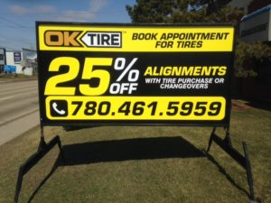 Sarnia Mobile Sign Rental