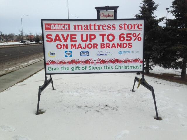 Edmonton Portable Rental Signs