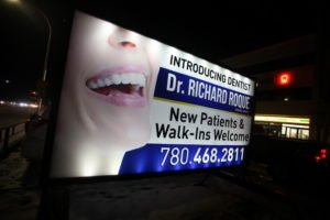Illuminated Portable Signs Stony Plain