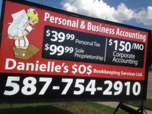 Mobile Signs Spruce Grove