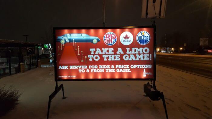 Portable Sign Rentals Edmonton