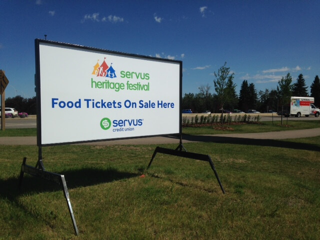 Stony Plain Mobile Signs