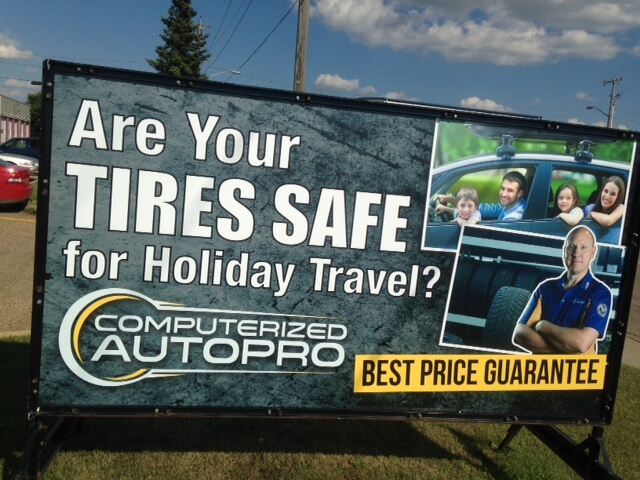 Stony Plain Portable Signs