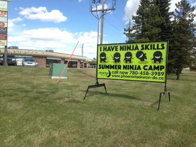 Edmonton Outdoor Advertising Sign