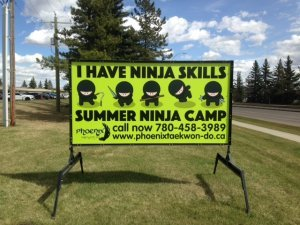 Edmonton Outdoor Advertising Signs