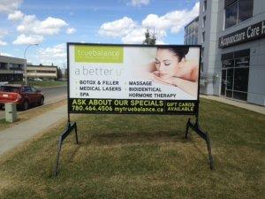 Outdoor Advertising Sign Edmonton
