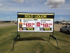 Roadside Sign Rental