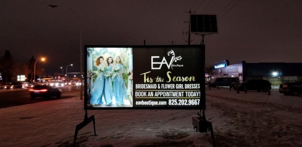 Road Side Advertising Edmonton
