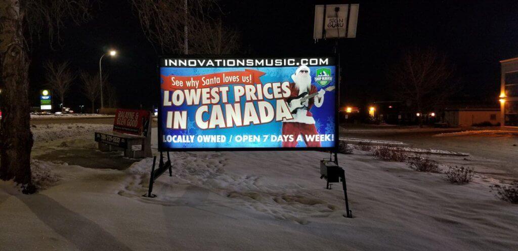 Illuminated Mobile Signs Regina