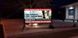 Illuminated Mobile Signs Winnipeg