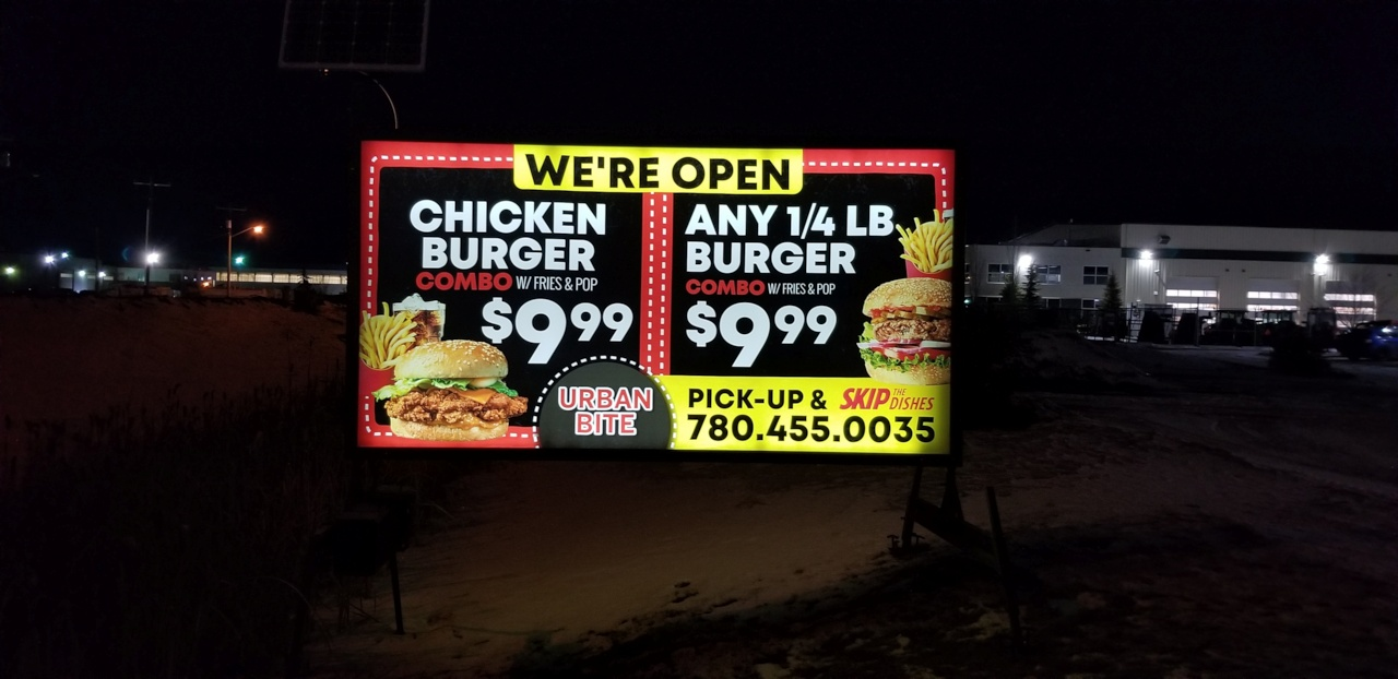 PORTABLE SIGNAGE FOR YOUR BUSINESS